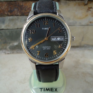 Men's Timex Indiglo Watch NEW BATTERY !!!
